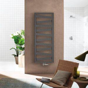 Zehnder Ribbon Radiateur de salle de bains pour mode eau chaude ou mixte, ZRI01760A100000# RB-170-060