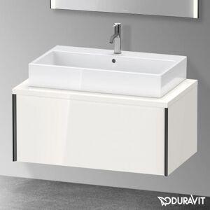 Duravit XViu Meuble sous-lavabo pour plan de toilette avec 1 tiroir, XV59130B285+UV996507777