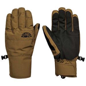Quiksilver Gants de ski marron homme Quiksilver Cross Glove  - Noir - XL