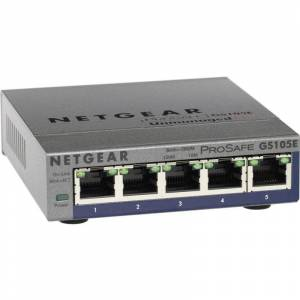 Netgear Switch réseau NETGEAR GS105E 5 ports 1 Gb/s R42618