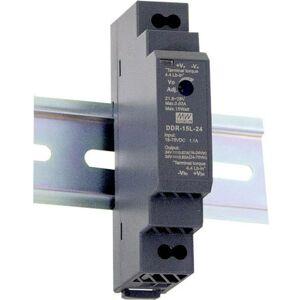 Mean Well Convertisseur CC/CC pour rail (DIN) DDR-15G-15 15 V/DC 1 A 15 W 1 x - Mean Well