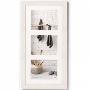 WALTHER DESIGN Cadre photo Home 3x13x18 cm Blanc polaire - Walther Design