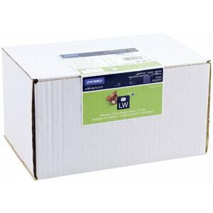 Dymo Étiquettes d'expédition/de badge nominatif - Blanc - Imprimante d'étiquette adhésive - Papier - Permanent - Rectangle - LabelWriter (S0722420) - Dymo
