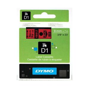 Dymo Ruban pour étiquettes printer 40917 9mm 7m noir printing/redD1 (40917) - Dymo