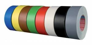 Tesa ruban vinyle 4651 Premium, 50 mm x 25 M, Noir (Par 6) - Tesa