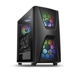 Thermaltake Commander C 34 - Midi ATX Tower - PC - SPCC - Noir - ATX,Micro ATX,Mini-ITX - 18 cm (CA-1N5-00M1WN-00) - Thermaltake