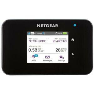 Netgear Routeur Mobile 4G LTE AC810 - Débit descendant jusqu'a 600Mbps. Connexion WiFi jusqu'a 15 appareils. Compatible toute SIM - Netgear