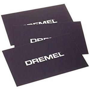 Dremel Tapis d'impression (3D20) 2615BT01JA lot de 3 Adapté pour: 3D Idea Builder - Dremel