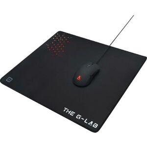 THE G-LAB PAD-CEASIUM Tapis de souris Gaming L 450x400x4mm avec gomme anti-dérapante - The G-lab
