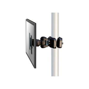 NEOMOUNTS BY NEWSTAR Support de montage sur tube pour écran Neomounts by Newstar FPMA-WP200BLACK 25,4 cm (10') - 76,2 cm (30') inclinable, mobile noir Y778421