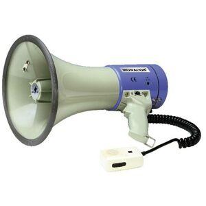 Monacor TM-27 Mégaphone sons intégrés, avec microphone à main - Monacor
