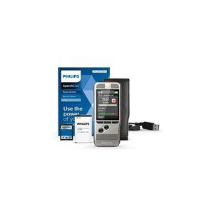 Philips Enregistreur vocal PocketMemo DPM6000, dictaphone numérique, logiciel de dictée SpeechExec Basic (abonnement de 2 ans inclus).