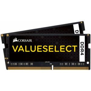 Corsair 32GB DDR4 - 32 Go - 2 x 16 Go - DDR4 - 2133 MHz - 260-pin SO-DIMM - Noir (CMSO32GX4M2A2133C15) - Corsair