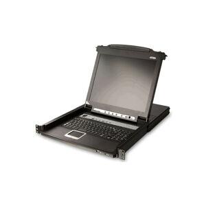 ATEN CL5708 - USB - PS/2 - USB - PS/2 - VGA - 1280 x 1024 pixels - Noir - LCD (CL5708M-AT-XG)