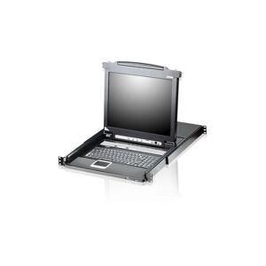 ATEN CL5708M - USB - USB Type-A - 1280 x 1024 pixels - 1,255 s - Noir - 1U (CL5708M-ATA-2XK06GG)
