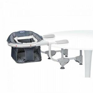 Chicco Siege de table Graphite - Pivotant 360° - Chicco