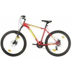 VIDAXL Vélo de montagne 21 vitesses Roues de 27,5 pouces 50 cm Rouge
