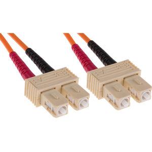 RS PRO SC-SC Patchcord OM2 Duplex Orange 3m