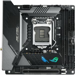 Asus ROG STRIX Z490-I GAMING - Intel - LGA 1200 - Intel® Celeron® - Intel® Core™ i3 - Intel Core i5 - Intel Core i7 - Intel Core i9 - Intel® Pentium®