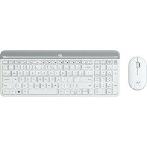 Logitech MK470 - Standard - RF sans fil - QWERTZ - Blanc - Souris incluse (920-009189) - Logitech