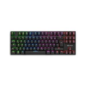 Sharkoon PureWriter TKL RGB - Avec fil - USB - Clavier mécanique - QWERTY - LED RGB - Noir (4044951021505) - Sharkoon