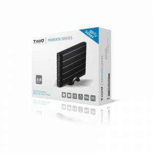 TOOQ Boîtier Externe TooQ TQE-3530B HDD 3.5 SATA III USB 3.0 Noir