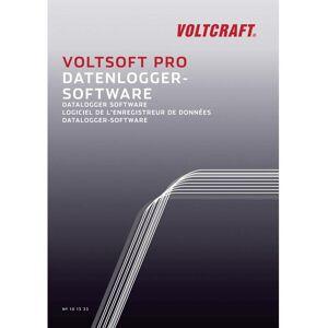 VOLTCRAFT VoltSoft PRO Logiciel de mesure version complète, 1 licence Microsoft Windows Vista™, Microsoft Windows® 7 Ho - Voltcraft