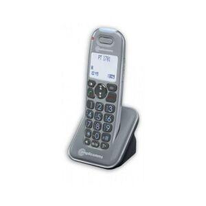 AMPLICOMMS Téléphone Additionnel PowerTel 2701 - Combiné Additionnel Gris - Amplicomms