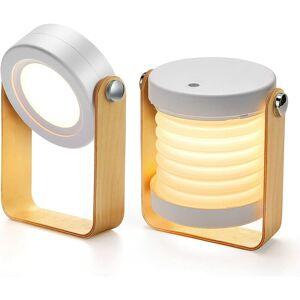 SUNFLOWER Lampe de chevet Dimmable Touch Light, Lampes de chevet portables pour lampe de chevet avec table