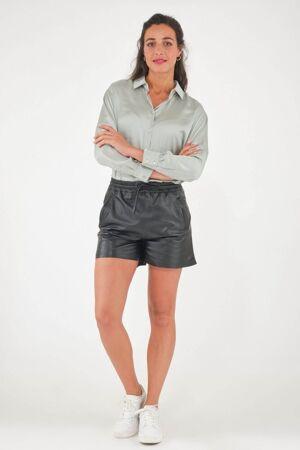 Oakwood Pantalon en cuir - PICK Noir 38/M Noir