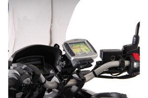 SW-Motech Support GPS QUICK-LOCK - Noir. Honda VFR 1200 X Crosstourer (11-). Multicolore taille : unique taille