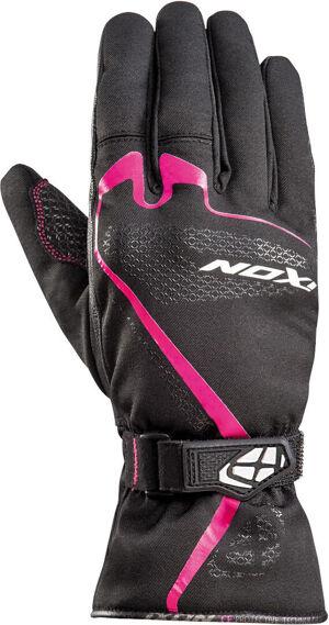 Ixon Pro Indy Gants de moto pour dames Noir Rose taille : S