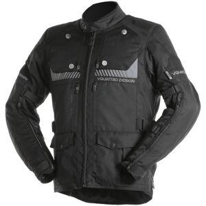 VQuattro Hurricane Lady Veste textile de moto de dames Noir taille : M