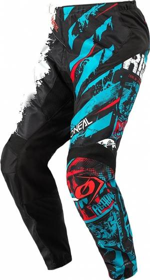 Oneal Element Ride Pantalon Motocross Noir Bleu taille : 34