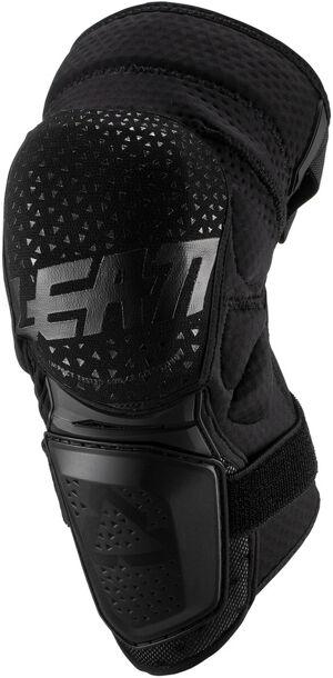 Leatt 3DF Hybrid Protecteurs de genou De Motocross Noir taille : S M
