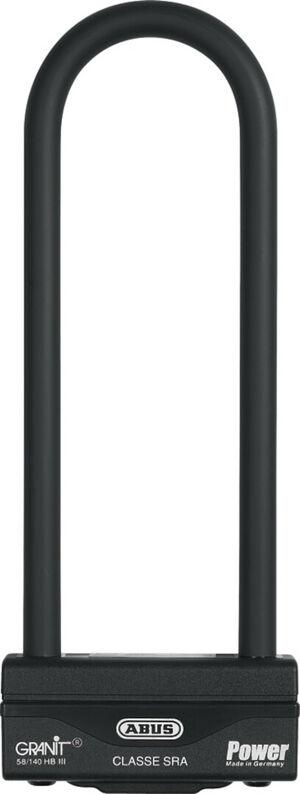 ABUS Granit Power 58 Shackle Lock Noir taille : 259 mm