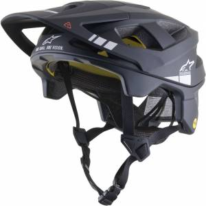 Alpinestars Vector Tech A1 Casque de vélo Noir Gris taille : M