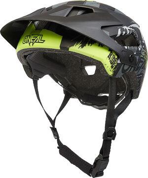 Oneal Defender Ride V.22 Casque de vélo Noir Gris taille : XS M
