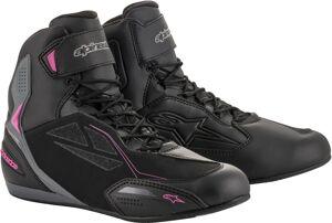 Alpinestars Stella Faster-3 Drystar Chaussures de moto de dames Noir Gris Rose taille : 43 44