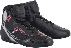 Alpinestars Stella Faster-3 Rideknit Chaussures de moto dames Noir Gris Rose taille : 36