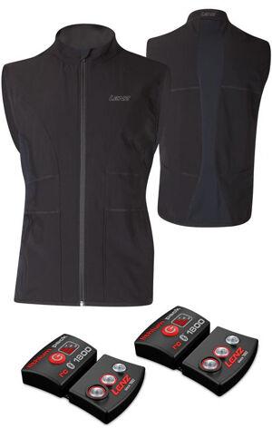 Lenz Lithium Pack rcB 1800 Bluetooth + 1.0 Heatable Vest Veste thermique Noir taille : 2XL