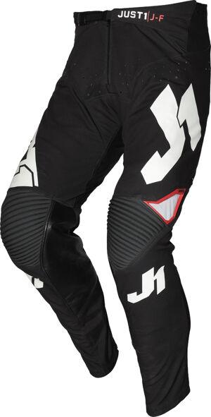 Just1 J-Flex Pantalon Motocross Jeunesse Noir Blanc taille : 40