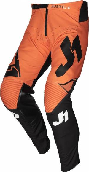Just1 J-Flex Pantalon Motocross Jeunesse Noir Orange taille : 42