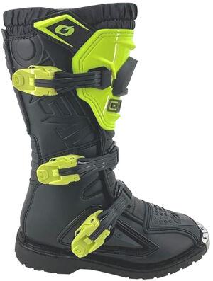 Oneal Rider Neon Yellow Bottes de motocross pour les jeunes Noir Jaune taille : 33