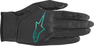 Alpinestars Stella Cascade Infinium Windstopper Ladies Bicycle Gloves Gants de vélo de dames Noir Vert taille : M