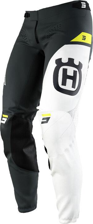 Shot Aerolite Husqvarna Limited Edition Motocross Pants Pantalon de motocross Noir Blanc Jaune taille : 28