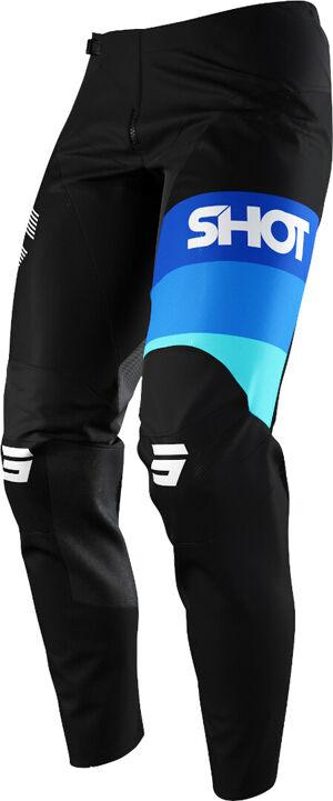 Shot Contact Story Pantalon de motocross Noir Bleu taille : 26
