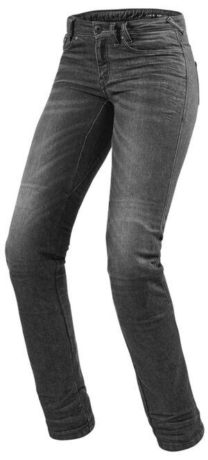Revit Madison 2 RF Pantalons Textile Mesdames Gris taille : 30