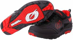 Oneal Traverse Flat Chaussures Noir Rouge taille : 42