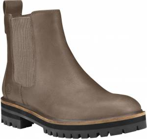 Timberland London Square Chelsea Bottes pour dames Gris taille : 39 40